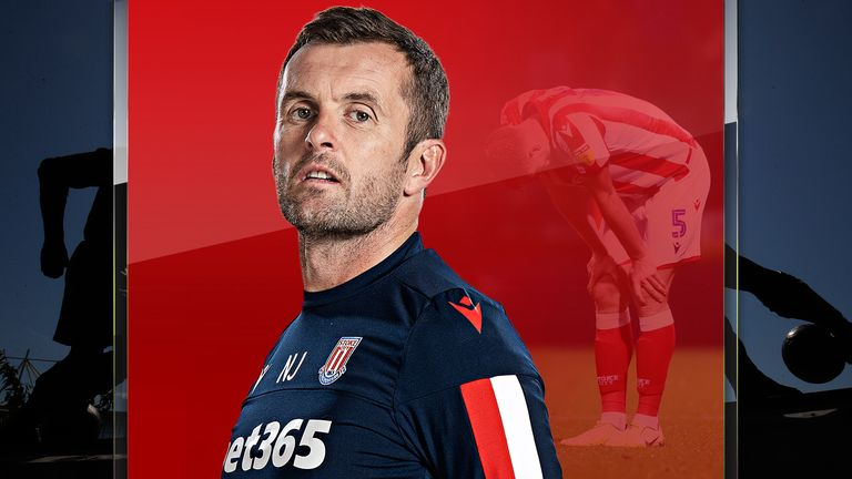 Nathan Jones' Stoke  side have had a difficult start to the season
