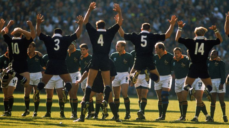 The All Blacks had crushed all before them at the 1995 World Cup, before crumbling in the final