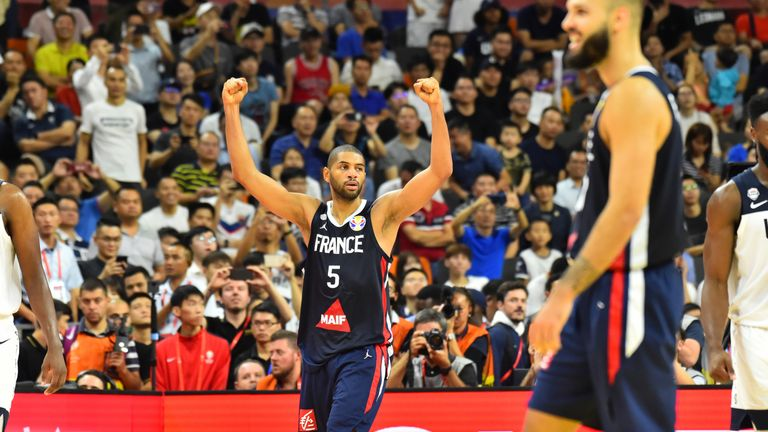 Nicolas Batum and France stunned the USA at the FIBA World Cup to reach the semi-finals at the expense of the holders