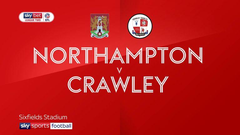 Northampton 2-2 Crawley: Joe Martin own goal breaks Cobblers' hearts