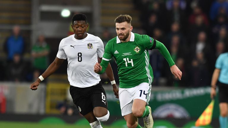 Stuart Dallas believes a Northern Ireland win against Luxembourg would be perfect momentum to face Germany