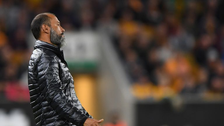 Nuno Espirito Santo admits his side are underperforming after another loss