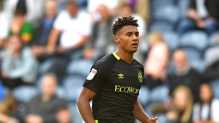 Ollie Watkins has scored eight goals from an unfamiliar role as a No 9 this season