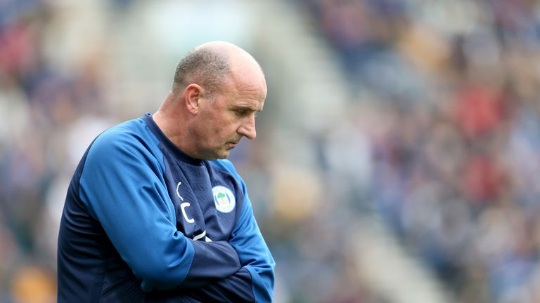 Paul Cook Wigan Confirm Resignation Of Manager With Heavy Heart Football News Sky Sports