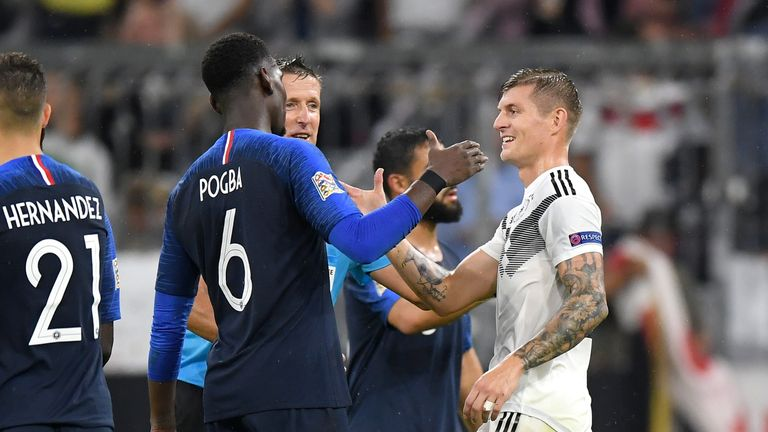 Toni Kroos could swap places with Paul Pogba in January