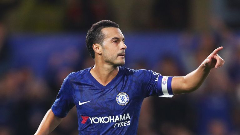 Pedro has made 201 appearances for Chelsea across all competitions
