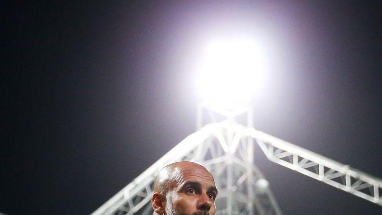 Pep Guardiola has defended Silva