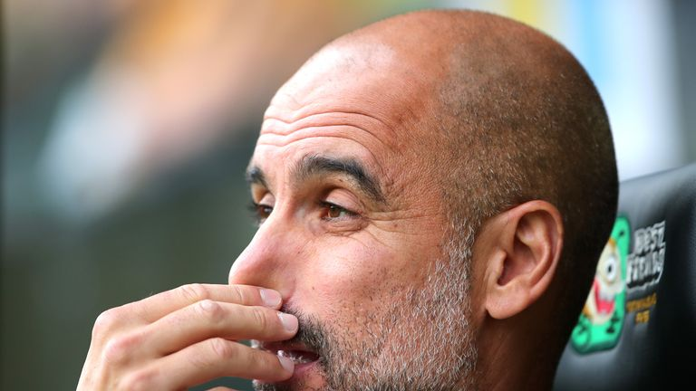 Pep Guardiola's Manchester City lost their first game without Aymeric Laporte at Norwich