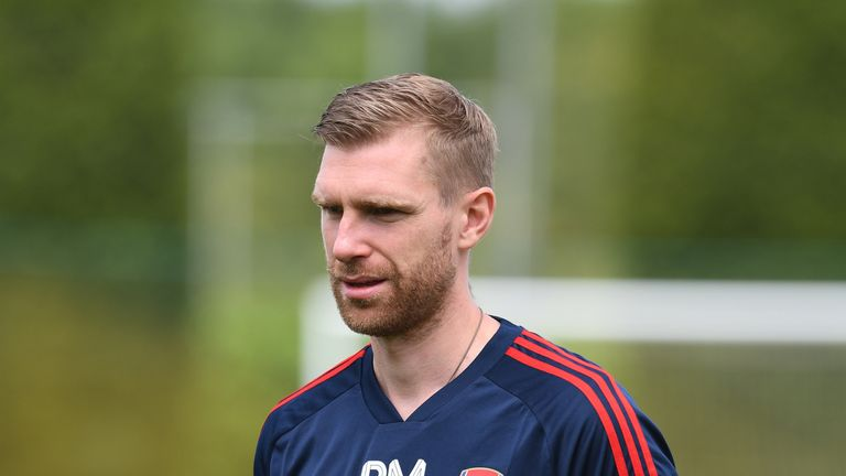 Per Mertesacker retired at the end of the 2017-18 season
