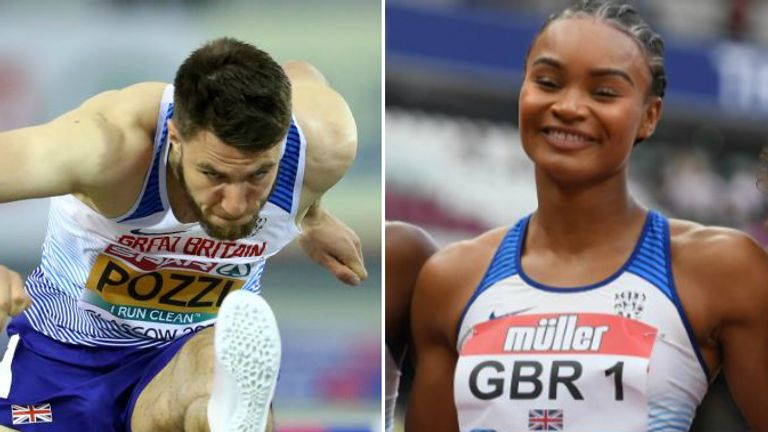 Andrew Pozzi and Imani Lansiquot will be lining up in a GB vest again in Qatar