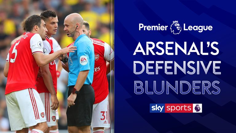 We look back at Arsenal's defensive errors which have led to conceding goals over the last two Premier League seasons.
