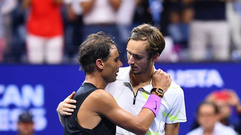 Daniil Medvedev took Rafael Nadal to five sets in the final of the US Open