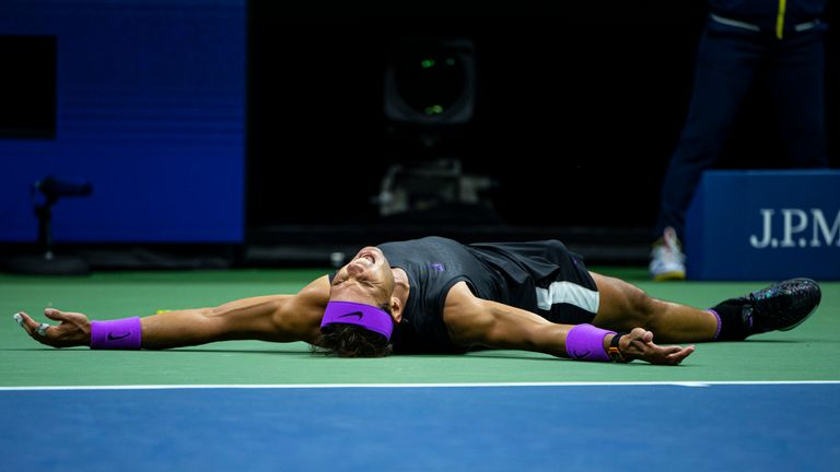 Nadal has now won the US Open in 2010, 2013, 2017 and 2019