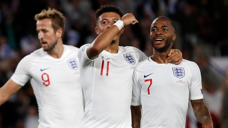 Raheem Sterling shone for England at St Mary's