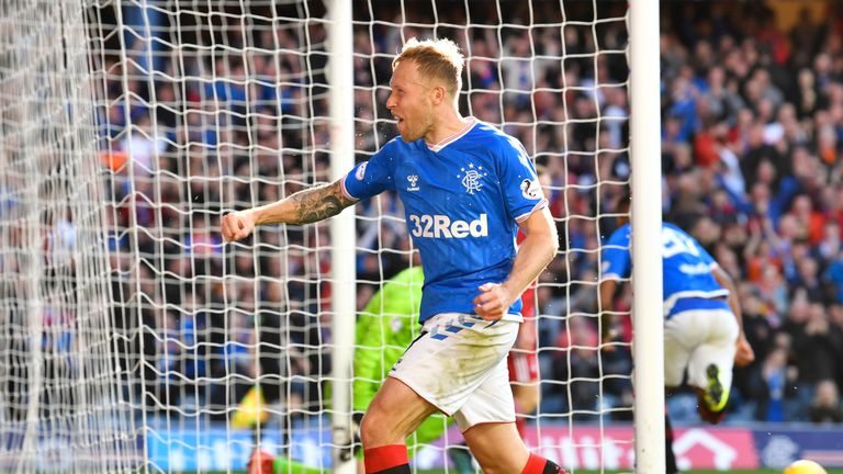 Rangers are now one point behind league leaders Celtic