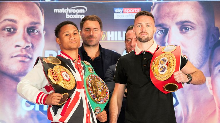 Regis Prograis against Josh Taylor tops the bill at The O2