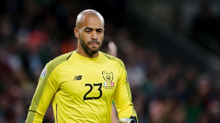 Darren Randolph has conceded just two goals so far during the Republic of Ireland's Euro 2020 qualifying campaign