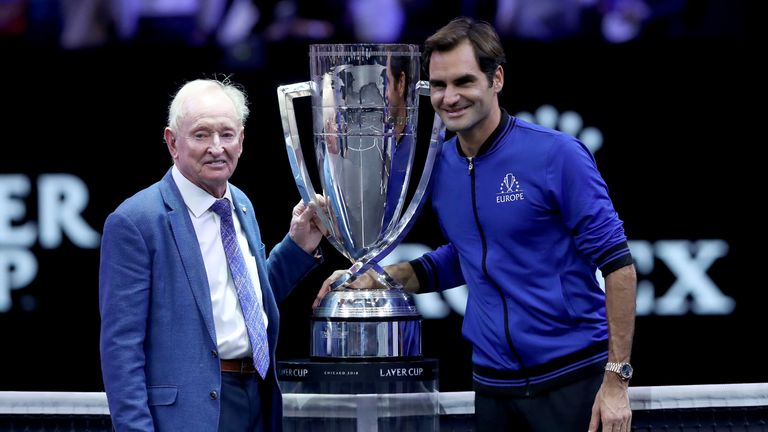 Roger Federer 'may play beyond 40', says tennis legend Rod Laver