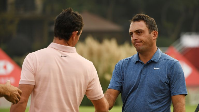 during the second round of the WGC - HSBC Champions at Sheshan International Golf Club on October 26, 2018 in Shanghai, China.