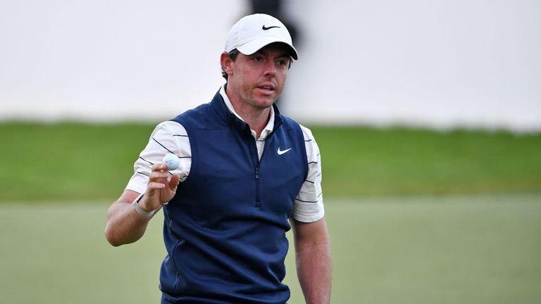 McIlroy battled hard to make it into the weekend