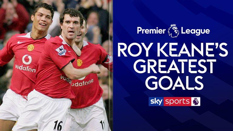 Roy Keane's Greatest Man Utd Goals