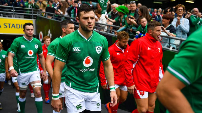 Robbie Henshaw will miss the Rugby World Cup opener against Scotland due to a hamstring issue