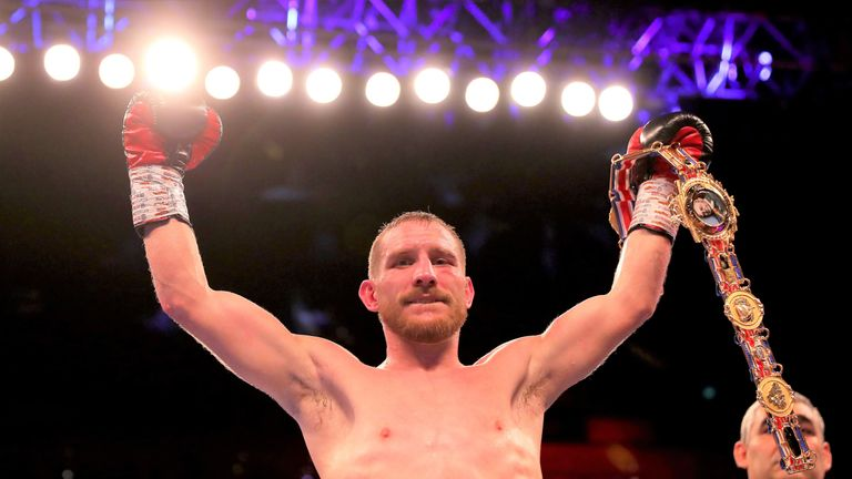 British champion Ryan Walsh is among a strong crop of featherweights