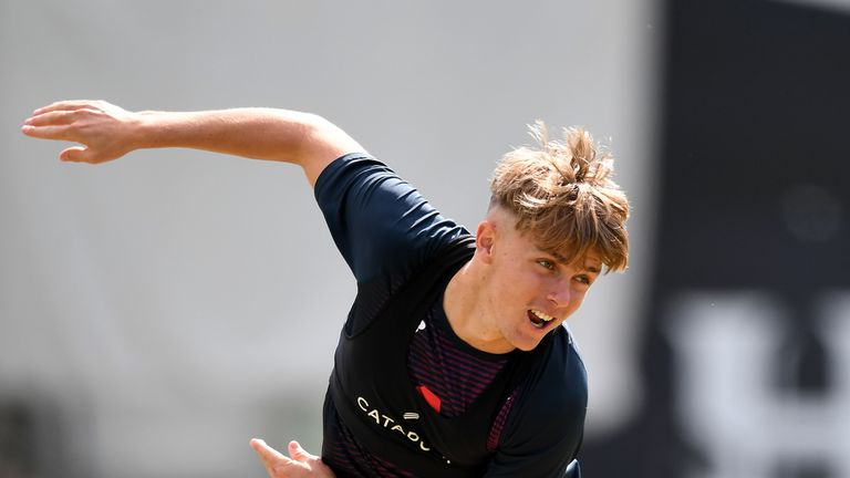Sam Curran will play for England at The Oval
