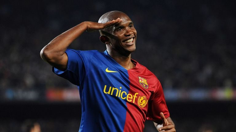 Former Barcelona forward Samuel Eto'o has signed off a glittering 22-year career