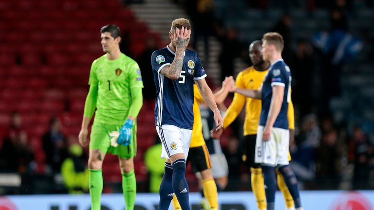 Scotland were 3-0 down within 32 minutes on Monday night