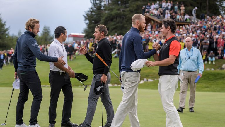 Sebastian Soderberg birdied the first extra hole to win his first European Tour title