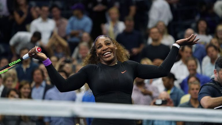 Serena Williams will be aiming to win a record-equalling 24th Grand Slam title