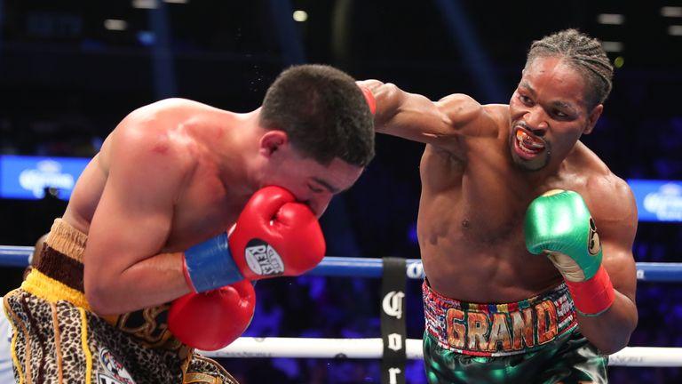 Porter beat Danny Garcia to win the WBC belt