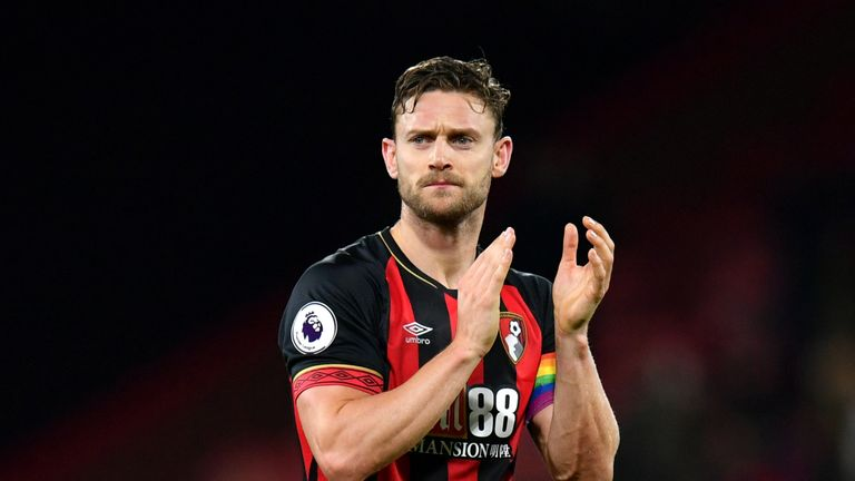 during the Premier League match between AFC Bournemouth and Huddersfield Town at Vitality Stadium on December 4, 2018 in Bournemouth, United Kingdom.