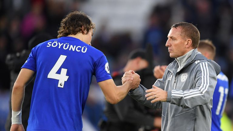 Rodgers is said to have been surprised by Soyuncu's impact at the back