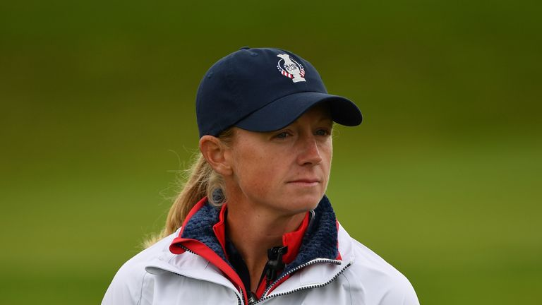 Stacy Lewis is now on Team USA's backroom team at Gleneagles