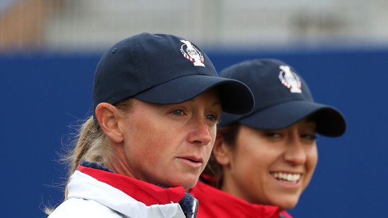 Lewis will stay at Gleneagles to support her team-mates