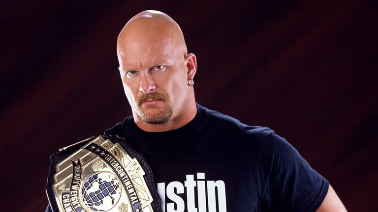 Steve Austin's name is on the illustrious list of former Intercontinental champions