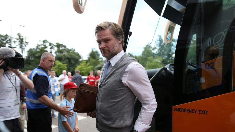Steven Pressley brought Maddison through at Coventry