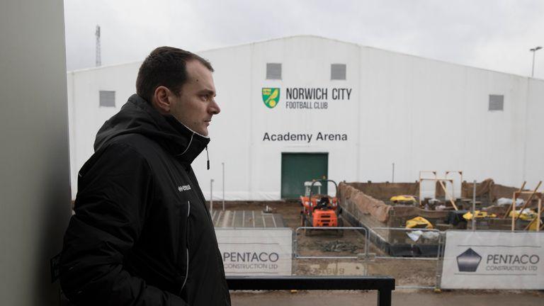 Sporting Director Stuart Webber has been integral to Norwich City's recent success