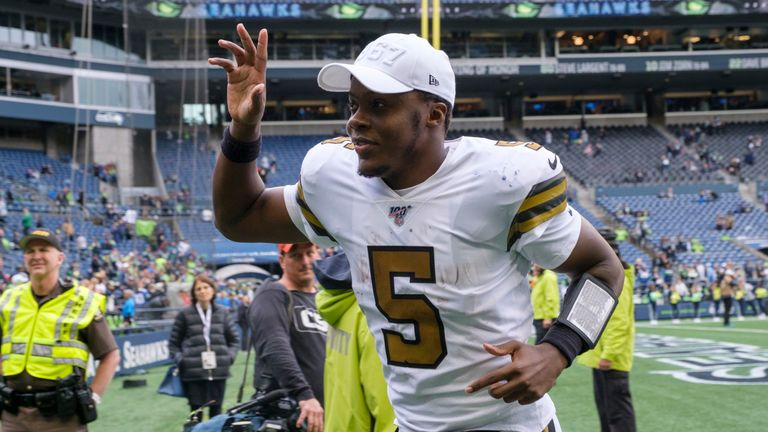 Teddy Bridgewater stepped up for the Saints in Drew Brees' absence