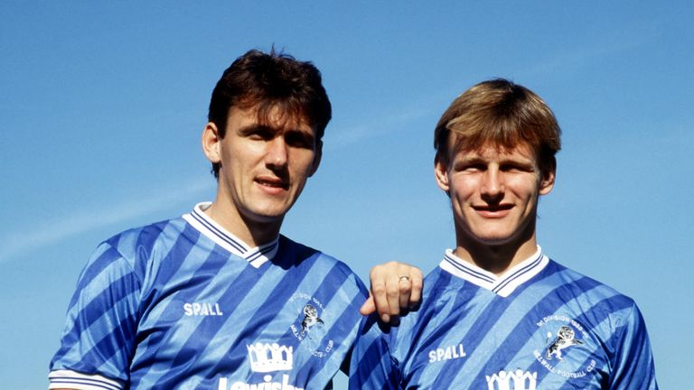 Tony Cascarino and Teddy Sheringham were at Millwall when Jones arrived as an apprentice in the 1980s