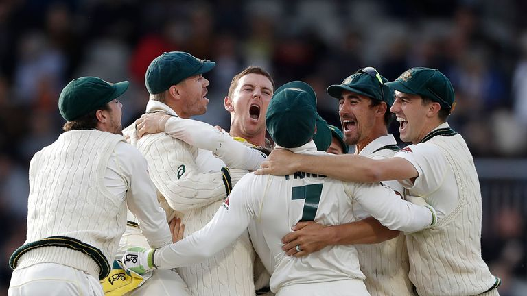 Australia Retain Ashes After Beating England At Old Trafford
