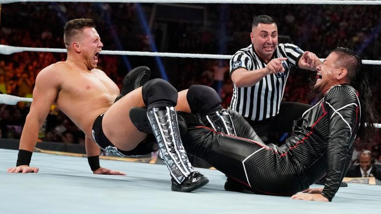 While not a finisher, The Miz has made Ric Flair's figure-four leglock part of his move set