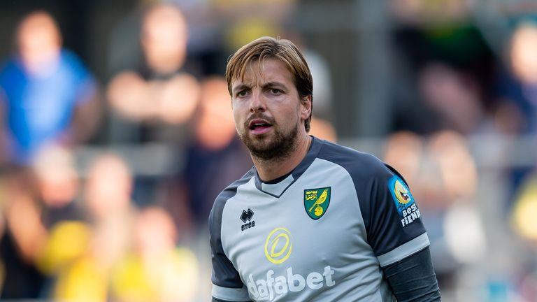 Norwich goalkeeper TIm Krul