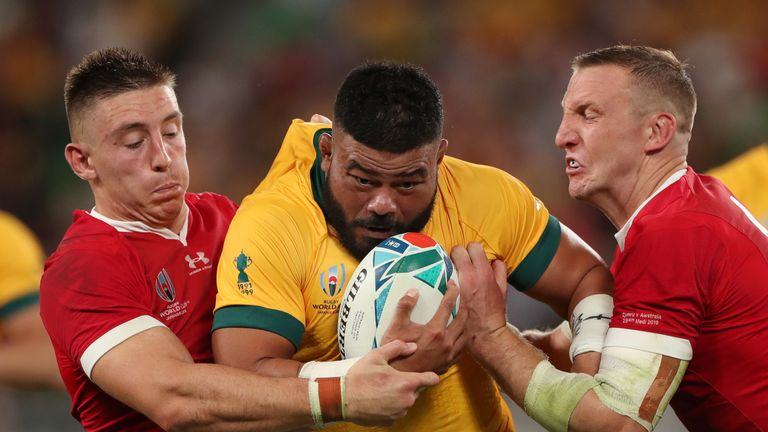 Wales beat Australia 29-25 at the 2019 Rugby World Cup