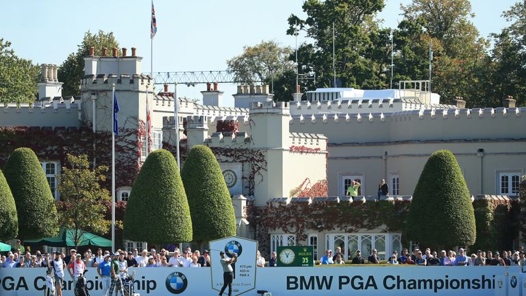 Twenty of the world's top 50 played at the BMW PGA Championship this week