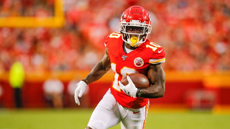 Tyreek Hill has committed his future to the Kansas City Chiefs