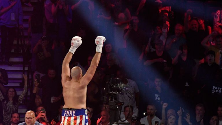 Fury headlines in Vegas for a second consecutive fight