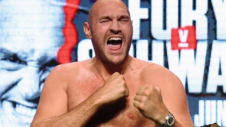 Tyson Fury fights Otto Wallin on Saturday